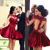 hot full lace elegant dress