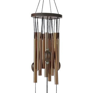 62 cm Antirust Copper Wind Chimes Lovely Outdoor Living/Yard Garden Decorations Birthday Gifts to Friends and Best Wishes