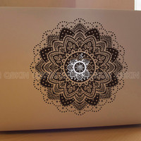Flower-decal macbook Macbook Decal Pro/Air Sticker Handmade Skin Partial Protector MacBook decal MacBook pro sticker13129