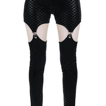 Black Sea | SUSPENDER LEGGINGS