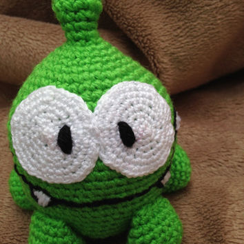 Om Nom Cut the rope pattern