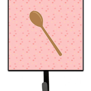 Wooden Spoon Pink Leash or Key Holder BB7270SH4