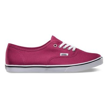 Vans Authentic Lo Pro (sangria/true white)