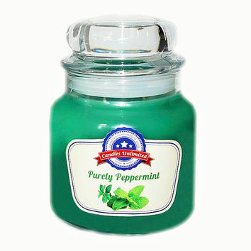 Purely Peppermint- Soy Blend Container Scented Candles
