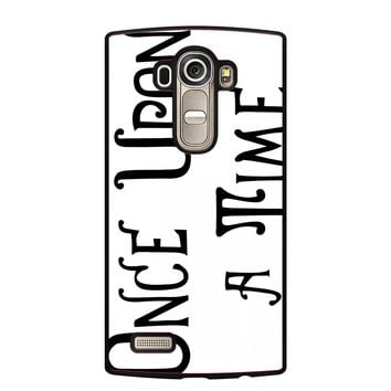 Henry's Book Once Upon A Time LG G4 Case