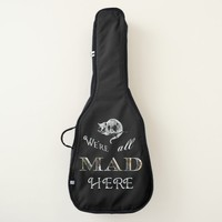 Cheshire Cat Mad Alice Black Guitar Bag
