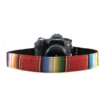 Navajo Red 2In Camera Strap - Capturing Couture - CASLR20-NVRD