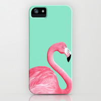 Pink Flamingo iPhone & iPod Case by Lorri Leigh Art | Society6