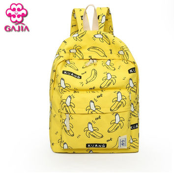 Factory Outlets Fresh School Bags For Teenagers Mini Backpacks High Quality Canvas Kawaii Character Fashion Women Shoulders Bag
