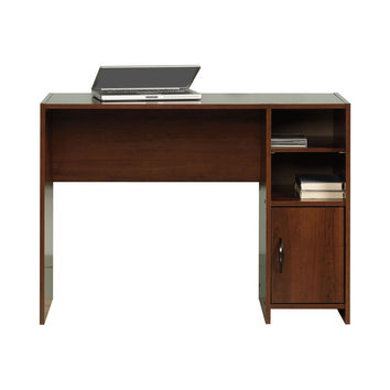 Made in USA Modern Basic Writing Computer Desk in Cherry Finish