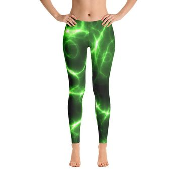 Barbwire Chain Lightning Leggings