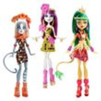 Monster High Ghouls' Getaway Doll Case