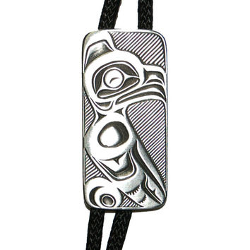 Eagle Bolo Tie in Pewter by Frederick Design (Style #B205)