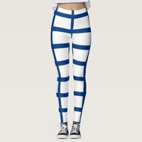 Leggings with flag of Finland