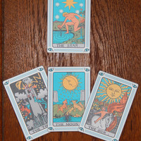 Print Your Own Tarot Cards - Printable Tarot Cards - Full 78 Card Deck Featuring Arthur Waite's 1909 Deck - Single Card and Multi Card Pages