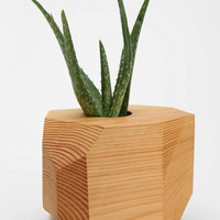 Urban Outfitters - Geometric Wooden Planter