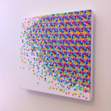 Canvas Art Print The Original Funfetti Explosion 12 X