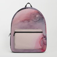 Kiss Goodbye Backpack by duckyb