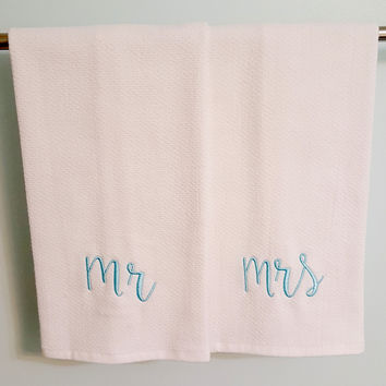 Mr. & Mrs. Dish Towels