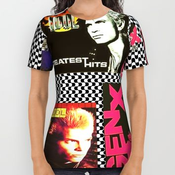idol All Over Print Shirt by Kathead Tarot