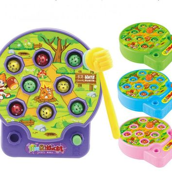 Baby Whac-A-Mole Mole Hamster Attack Game