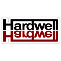 'HARDWELL T-Shirt' Sticker by galihhrdwrk