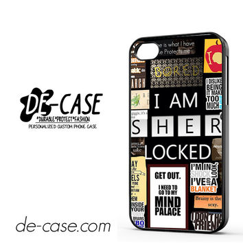 Sherlock Holmes Wallpaper Bbc DEAL-9564 Apple Phonecase Cover For Iphone 4 / Iphone 4S