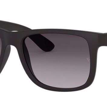 RAY-BAN Black Justin Sunglasses RB 4165 601/8G