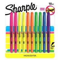 Sharpie® Accent Highlighter, Bold Tip, 10ct - Multicolor