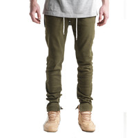 Silhouette Pants Olive