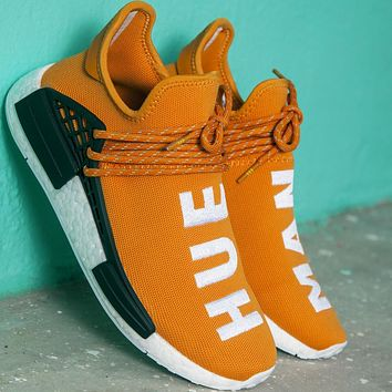 Adidas PW HUMAN RACE NMD tide brand personality fashion sneakers F Orange