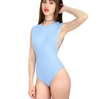 BABY BLUE BABE BODY SUIT