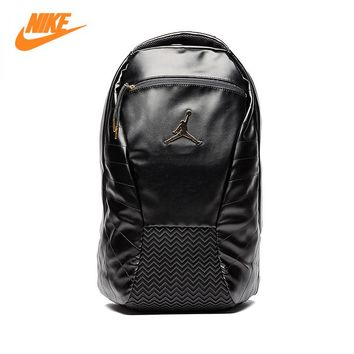 Nike Air Jordan 12 AJ12 Black Gold Sports Men and Women Shoulder Bags,Unisex Backpacks Sports Bags 9A1773-429