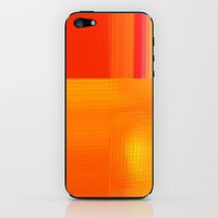 Re-Created Northern Cross12 iPhone & iPod Skin by Robert S. Lee