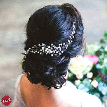Pearl Vine Bridal Wedding Hair Comb