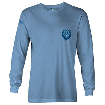 Columbia Mascot Long Sleeve T-Shirt  (Light Blue)