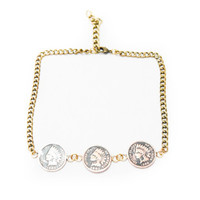 Penny for your Thoughts Choker
