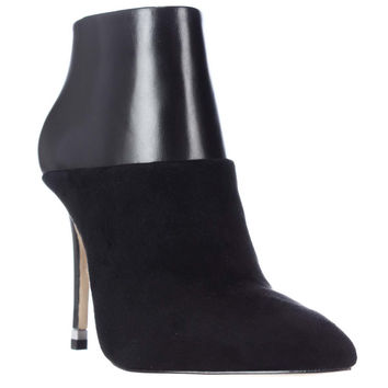 MICHAEL Michael Kors Freya Pointed Toe Dress Booties - Black