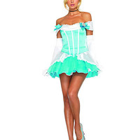 Glass Slipper Princess Costume | Sexy Clothes Womens Sexy Dresses Sexy Clubwear Sexy Swimwear | Flirt Catalog