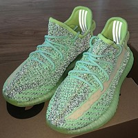 ADIDAS Yeezy Boost 350 V2 new starry luminous casual sneakers