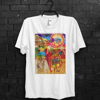 Led Zeppelin Us Tour From San Barbara T-Shirt, Led Zeppelin, Jimmy Page, Robert Plant, Classic Rock, Band Shirt
