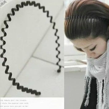 Korean Hair Accessories Hair Clip Black Hairband [11516256655]