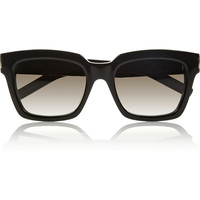 Saint Laurent - Bold 1 square-frame acetate sunglasses