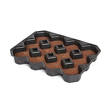 Bakelicious Crispy Corner Brownie Pan - Black