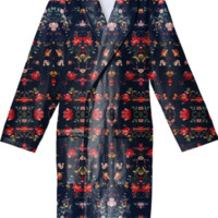 Floral ROBE created by Maioriz | Print All Over Me