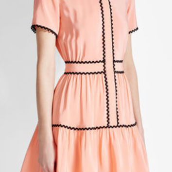 Silk Crepe de Chine Dress - Kenzo | WOMEN | US STYLEBOP.COM