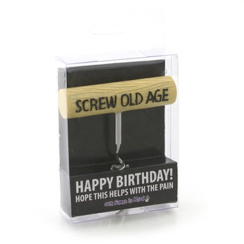 Screw Old Age Corkscrew