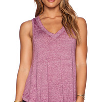Free People Breezy Tank in Purple