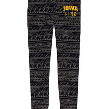 University of Iowa Printed Yoga Legging - PINK - Victoria's Secret