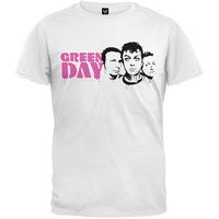 Green Day - Stencil Posse T- Shirt